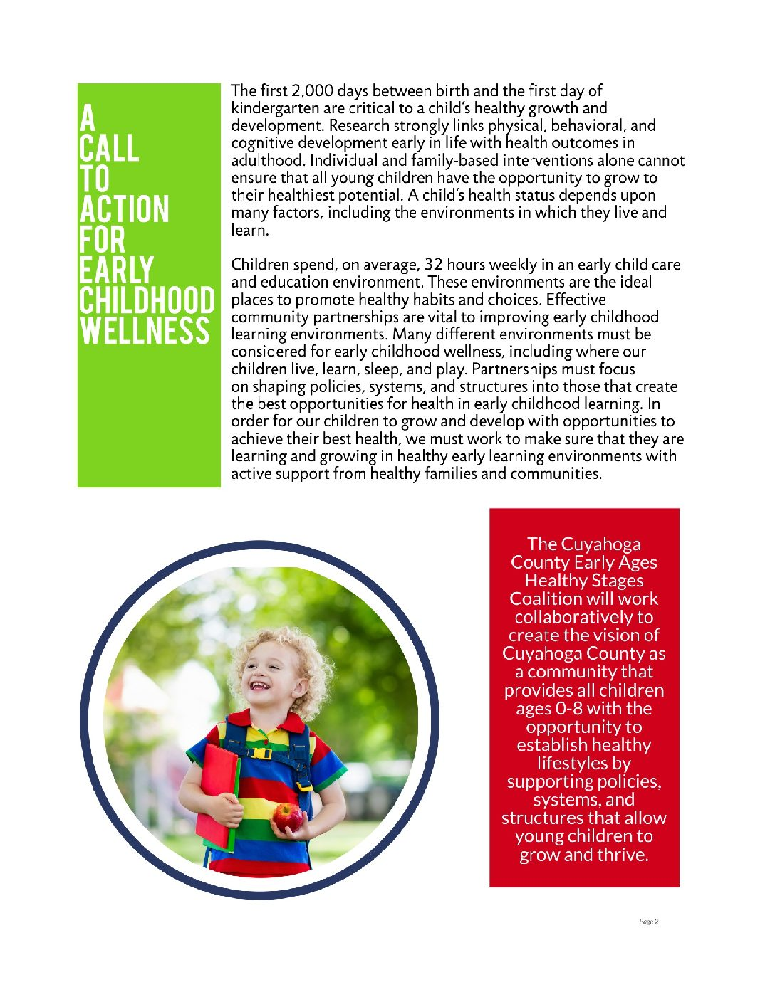 Early Childhood Call To Action