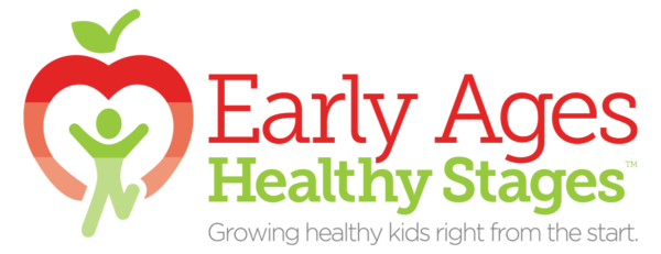 Early Ages Healthy Stages Retina Logo