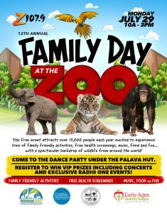 Family Fun Day at The Zoo with Radio ONE! @ Cleveland Metropolitan Zoo
