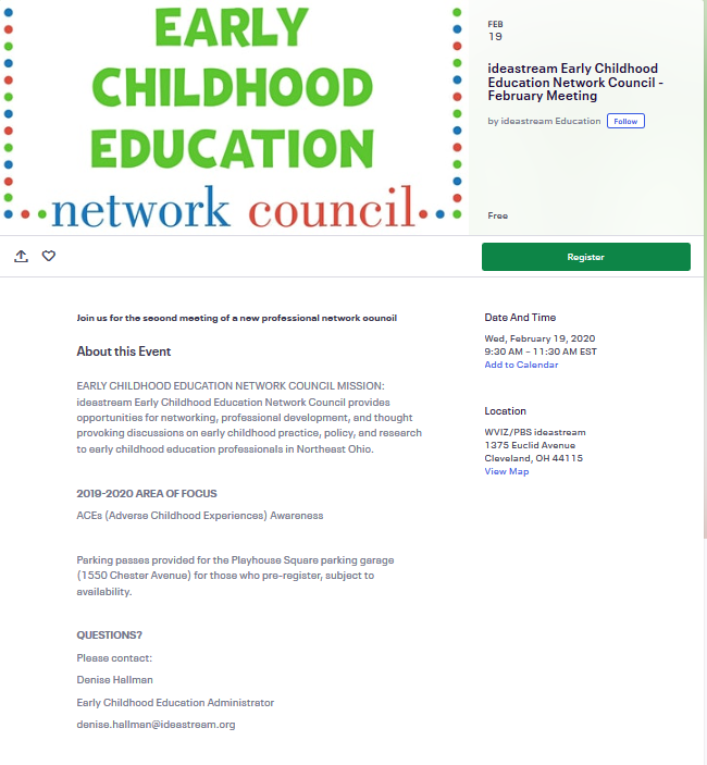 Early Childhood Education Network Council