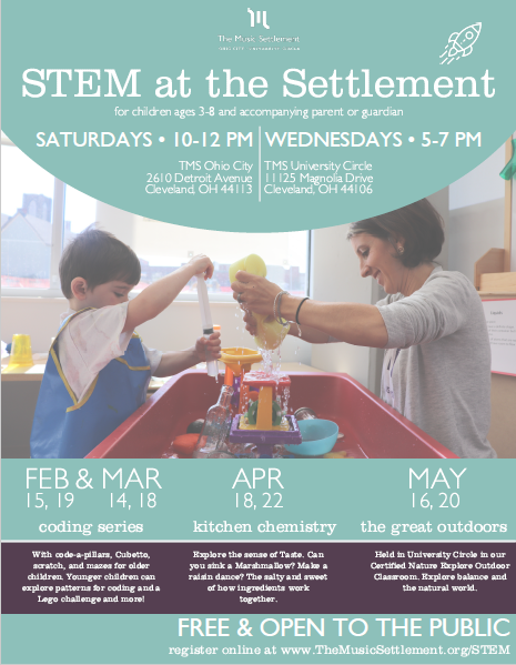 STEM at The Settlement @ The Music Settlement, Ohio City
